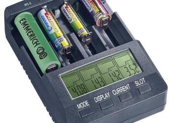 Ładowarka do akumulatorów VOLTCRAFT IPC-3, LiIon, NiCd, NiMH