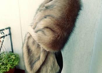 Etola ślubna imitująca prawdziwe futro z norek