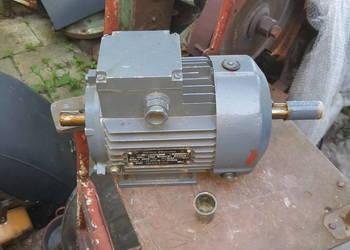 Silnik elektryczny dwustronny 0.75Kw 3 fazowy motor Nowy