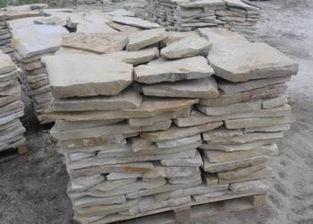 Kamień piaskowiec Szydłowie, dzikówka, elewacje, ogrodzenia.