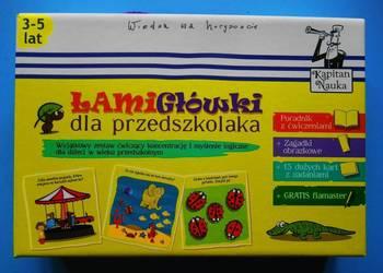 Łamigłówki dla przedszkolaka KAPITAN NAUKA 3-5lat