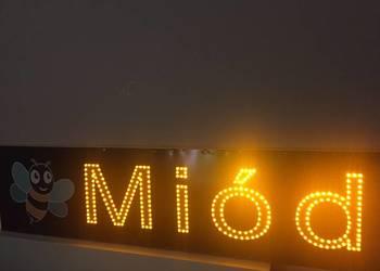 Reklama LED Miód 120x30cm zewnętrzna