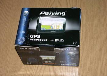 nawigacja peiying gps 5003 5 cali - drobne uszkodzenie