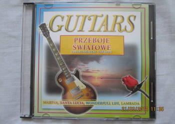 płyta CD Guitars przeboje światowe