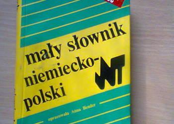 Słowniki niemiecko - polski, polsko - niemiecki