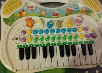 pianinko Dla Dzieci Organki Simba Play and Learn