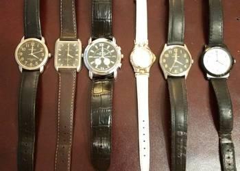 5 męskich zegarków plus 1 damski zegarek