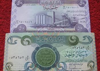 IRAK Kolekcjonerskie Banknoty - 2 sztuki UNC