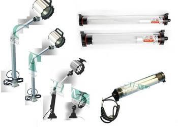 Lampa do oświetlenia przestrzeni roboczej tokarki CNC