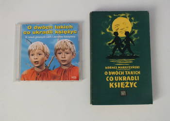 O dwóch takich co ukradli księżyc film VCD + książka UNIKAT
