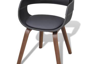 vidaXL Krzesło do jadalni, nogi z giętego drewna 241684