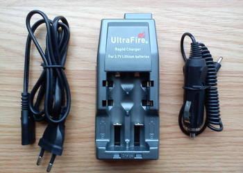 Ładowarka UltraFire WF-139/c + adapter