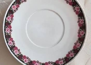 10 talerzyków z motywem róży