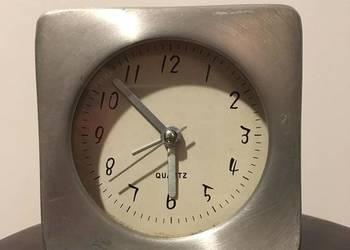 zegarek metal budzik