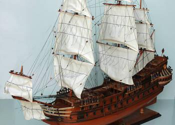 Statek,model,replika długość 60cm