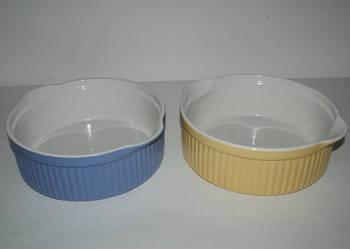Formy ceramiczne do zapiekania w piecu - 2 szt.