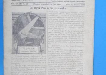 1. Gość Niedzielny - Rok Wydania 1948  - Bezpłatna wysyłka.