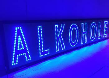 Reklama LED diodowa 210x40cm zewnętrzna