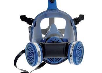 Maska pełnotwarzowa przeciwpyłowa TR2002 DUPLA + 2 filtry P3