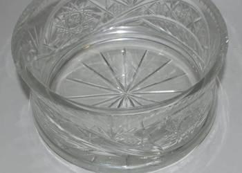 Okrągła Kryształowa misa owocarka (19 cm) (Kryształ)