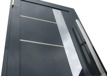 Drzwi do domu, wejściowe aluminiowe, Schüco ADS 70.HI