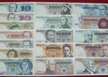 POLSKA PRL ZESTAW (4) Kolekcjonerskie Banknoty - 17 szt. UNC