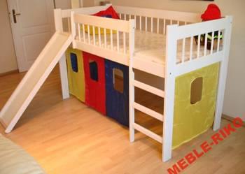 Łóżko pietrowe ze zjezdzalnią 80x160 lub 80x180 PROMOCJA!!