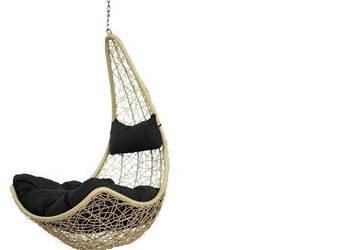 Wiszący fotel huśtawka bujana kokon bujak hamak
