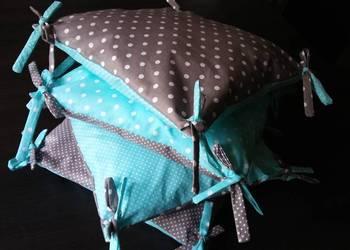 Poduszki dekoracyjne, ochraniacz do łóżeczka 35x35cm
