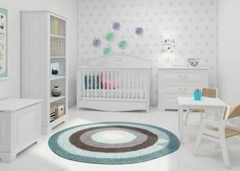 Meble do pokoju dziecka w kolorze Ecru Bellamy Ines White