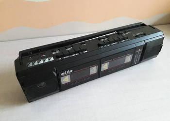 Radiomagnetofon Elta 6455 dwukasetowy, jamnik