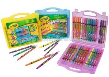 Crayola Mega Zestaw Wykręcanych 32 Kolorowych Kredek Kredki