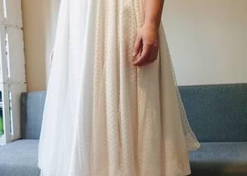 Suknia ślubna biała, rozmiar 44