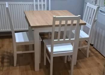 Tani  komplet stół z 4 krzesłami-okazja!!!