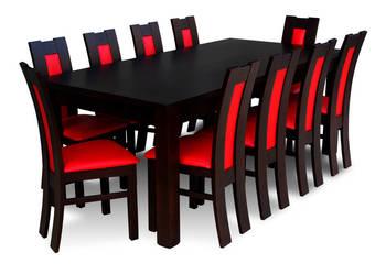 Zestaw,Stół 100/200/290 + 10 Krzeseł - Tanio,Promocja!