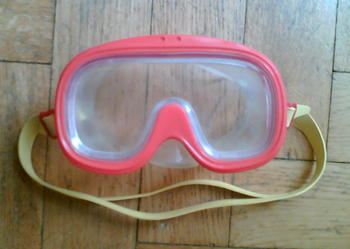 Maska do pływania dla dziecka