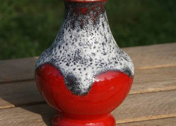 Ceramiczny wazon wazonik fat lava - lata 60/70-te