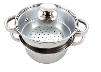 Garnek 3,1L Gotowania NA PARZE 3el 20cm INDUKCJA