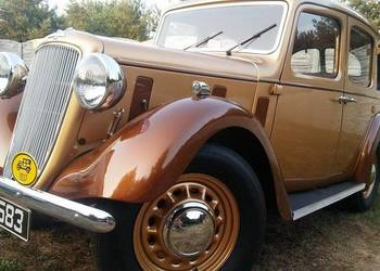 AUSTIN 10 CAMBRIDGE 1937r z klasą charakterem do ślubu auto