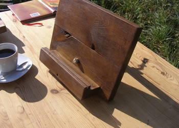 podstawka podpórka pod książki książkę tablet drewno kolor