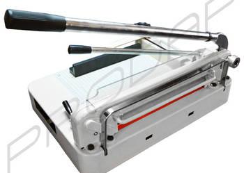 A4 GILOTYNA Z DOCISKIEM metalowa cięcia do papieru do 3cm