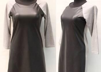 a9c268fc82 Nowe Duże tuniki dresowe sukienki z lateksem 46 48 + gratis