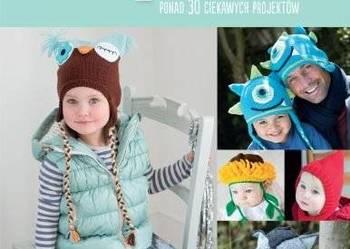 Zabawne czapeczki PROJEKTY WZORY DLA DZIECI /FA