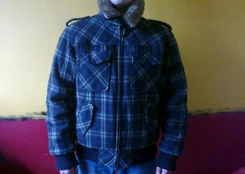 Ciepła kurtka na zimę jak nowa