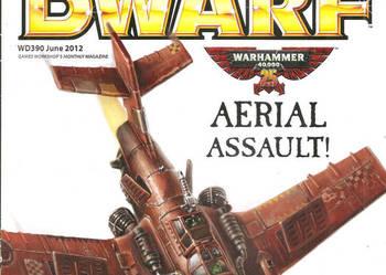 White dwarf Czerwiec 2012 Warhammer LOTR Games Workshop fan