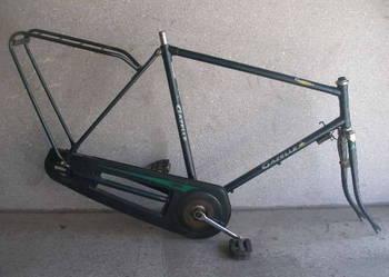 rama gazelle primeur + widelec + suport + bagażnik