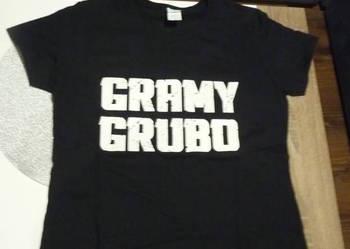 """Nowa koszulka PGA 2016 """"Gramy grubo"""" rozmiar S/M"""