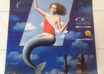 Plakat MISS WORLD 2006 Warszawa duży