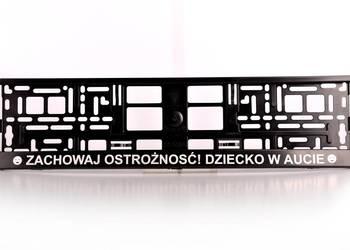 RAMKA Ramki POD TABLICE REJESTRACYJNA + ODBLASK
