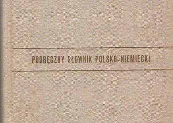 Podręczny słownik polsko-niemiecki.